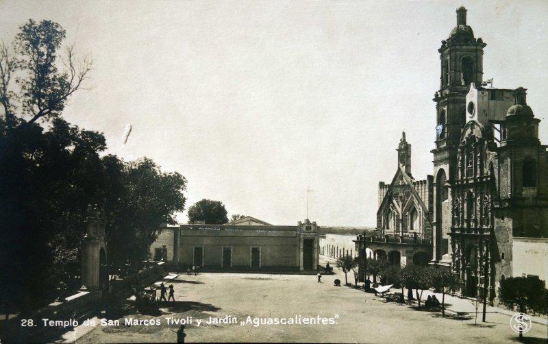 Templo de San Marcos y el Jardin