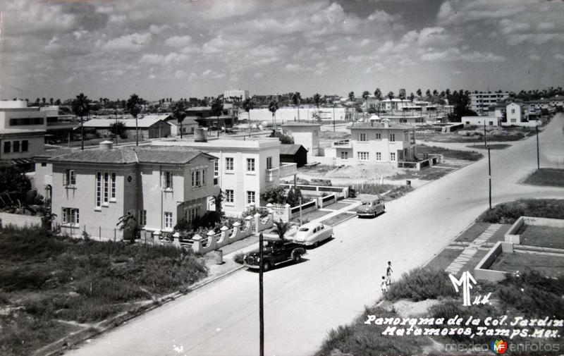 Panorama de la Colonia Jardin