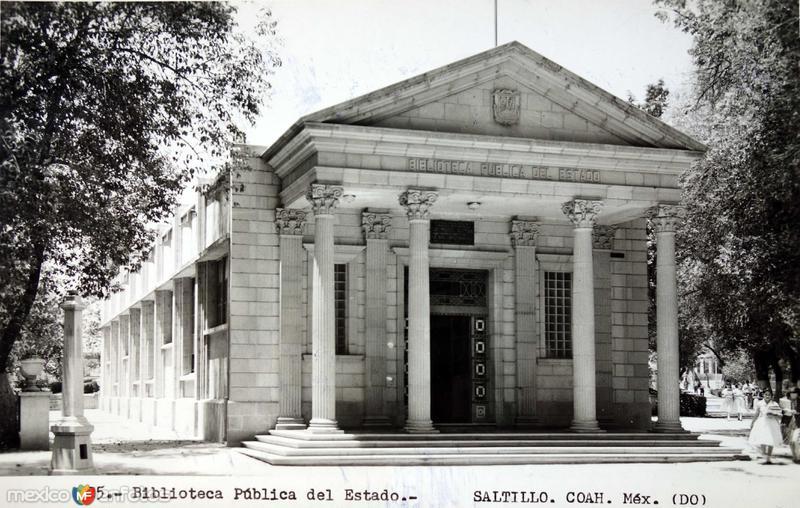 La Biblioteca Publica del Estado