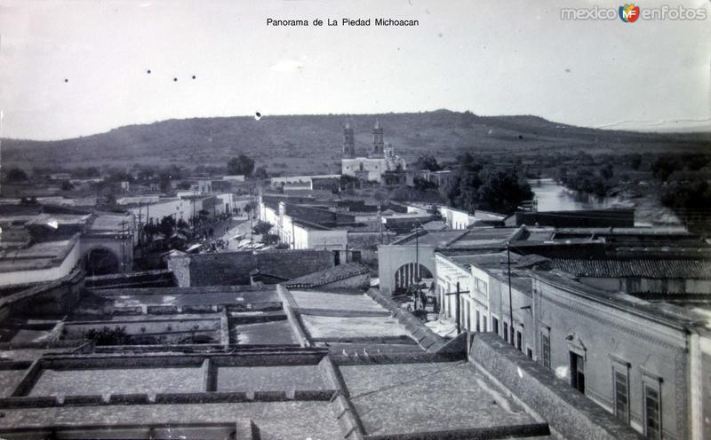 Panorama de La Piedad Michoacan ( 1930-1950 )