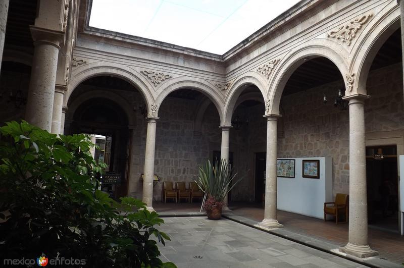 Patio interior de la Casa Natal de Morelos. Marzo/2016
