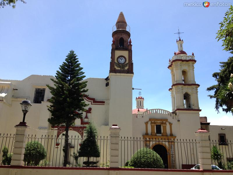 Templo de San Pablo siglo XVII. Apetatitlán de Antonio Carvajal. Julio/2016