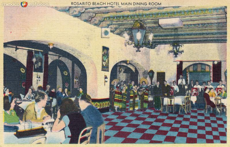 Restaurante del Hotel Rosarito Beach