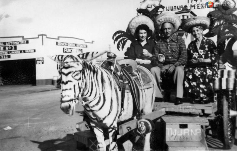 Turistas en Tijuana (1941)
