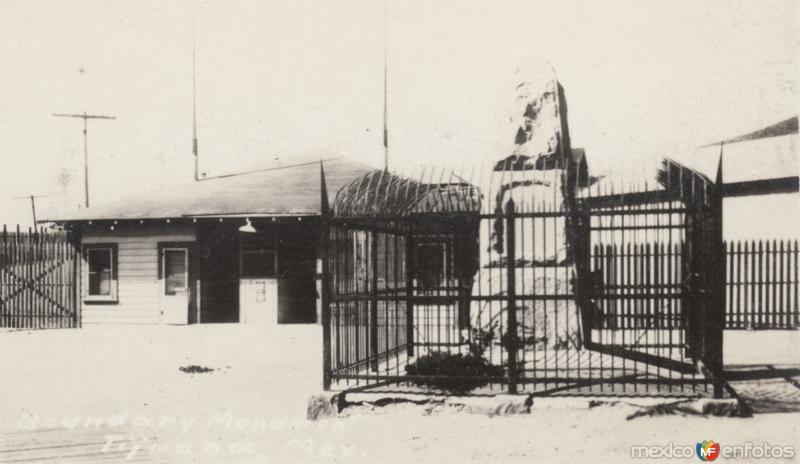 Monumento de la línea fronteriza
