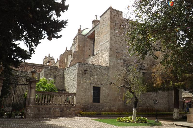 Vista posterior del Templo de San Agustín. Marzo/2016