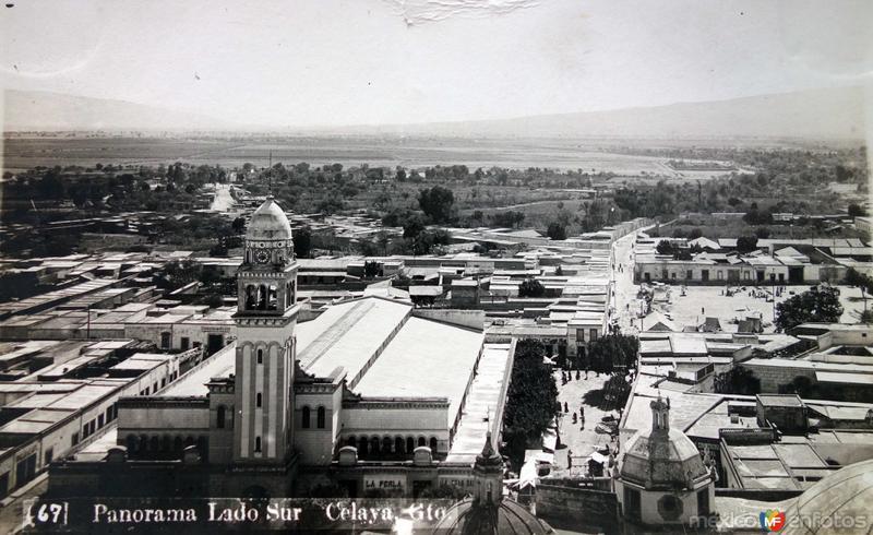 Panorama lado Sur de la Poblacion