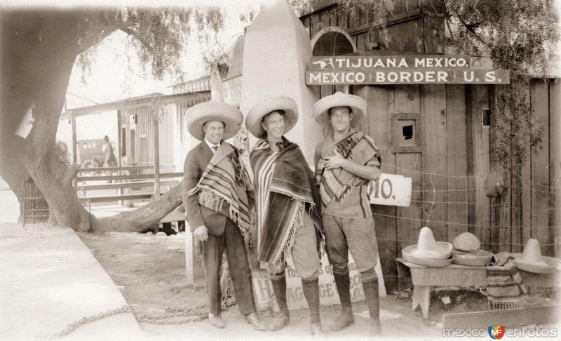 Three Amigos in Tijuana
