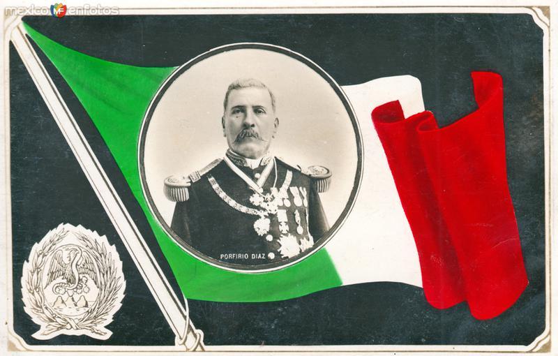 Postal de Porfirio Díaz