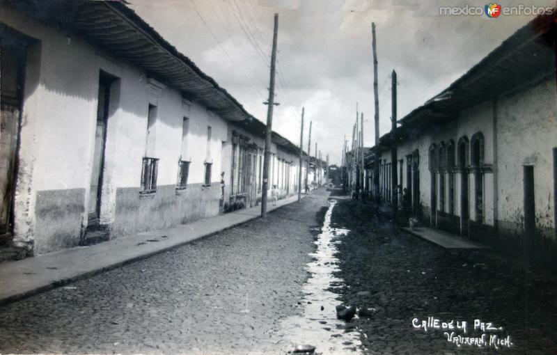 Calle de La Paz ( 1930-1950 )