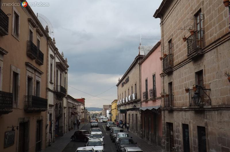 Calles del Centro Histórico de Morelia. Marzo/2016