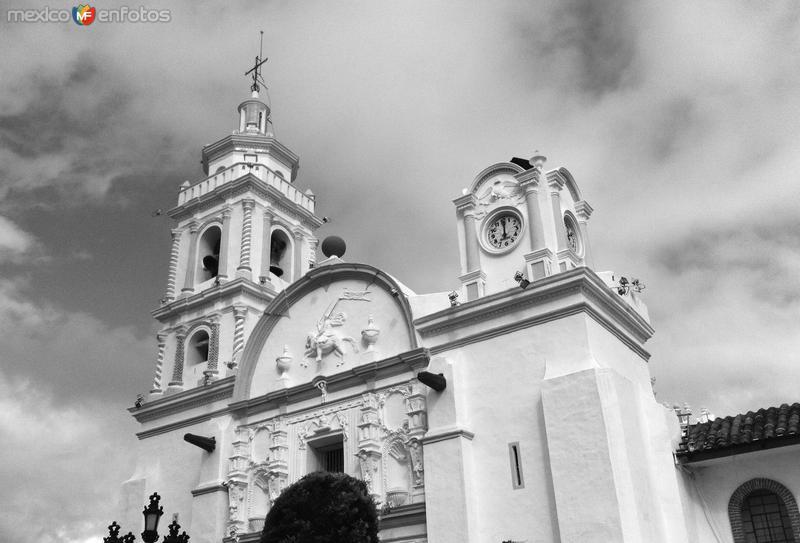 Parroquia de Santiago Apóstol. Zócalo de la ciudad.