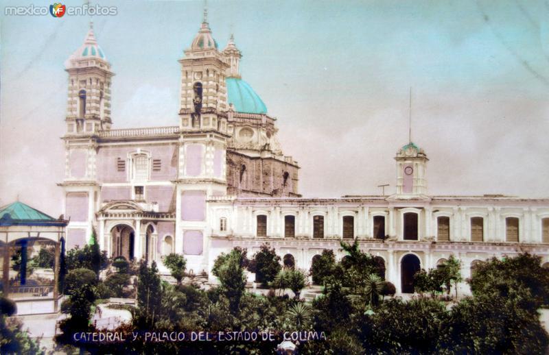 Catedral y Palacio de Gobierno
