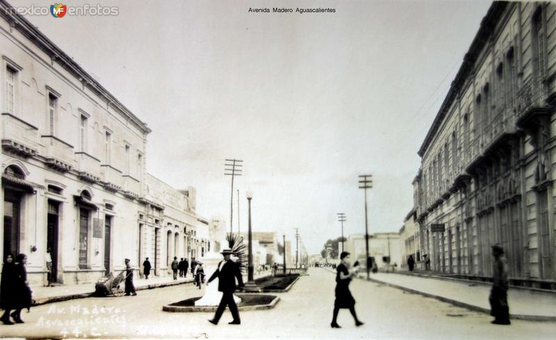 Avenida Madero Aguascalientes