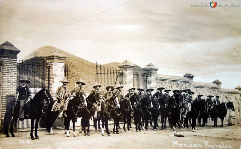 TIPOS MEXICANOS Rurales