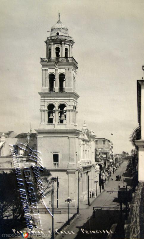 Parroquia y calle Principal