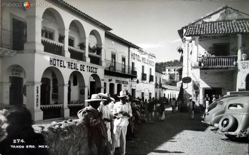 Hoteles Real deTaxco y Melendez