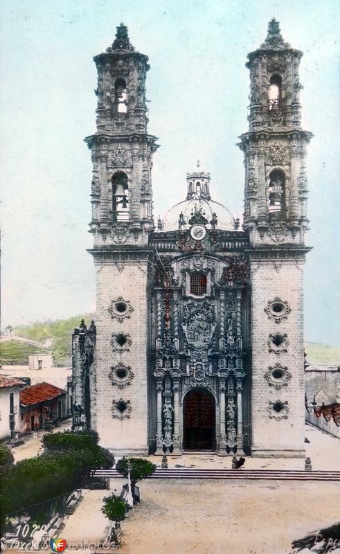 Parroquia de Santa Prisca Por el fotografo Charles Waite