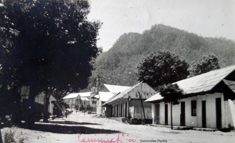 Escena Callejera Quimixtlan Puebla