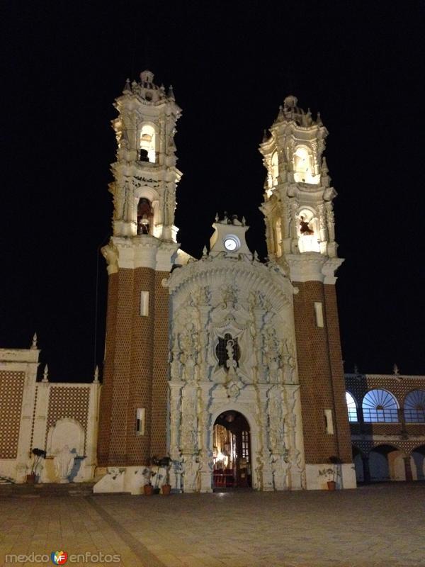 Nocturna de la Basílica de Ocotlán. Noviembre/2016
