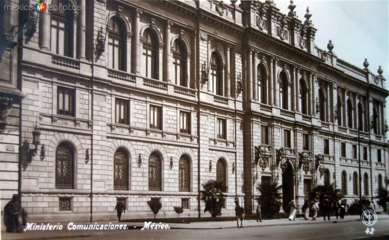 Ministerio de Comunicaciones de la Cd.de Mexico D F