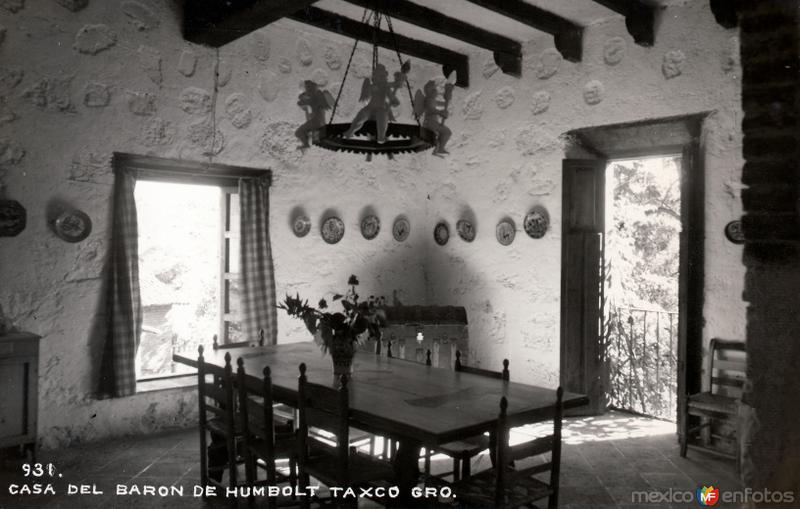 Comedor de la casa del Barón de Humboldt