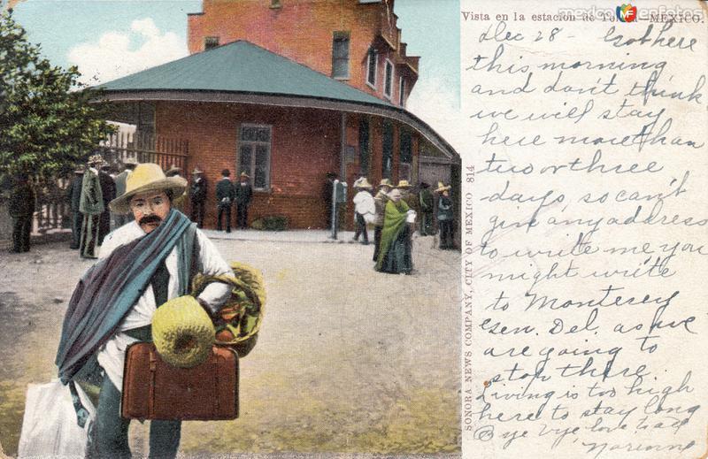 Estación del Ferrocarril de Toluca