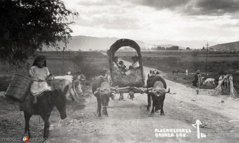 Alrededores de Oaxaca