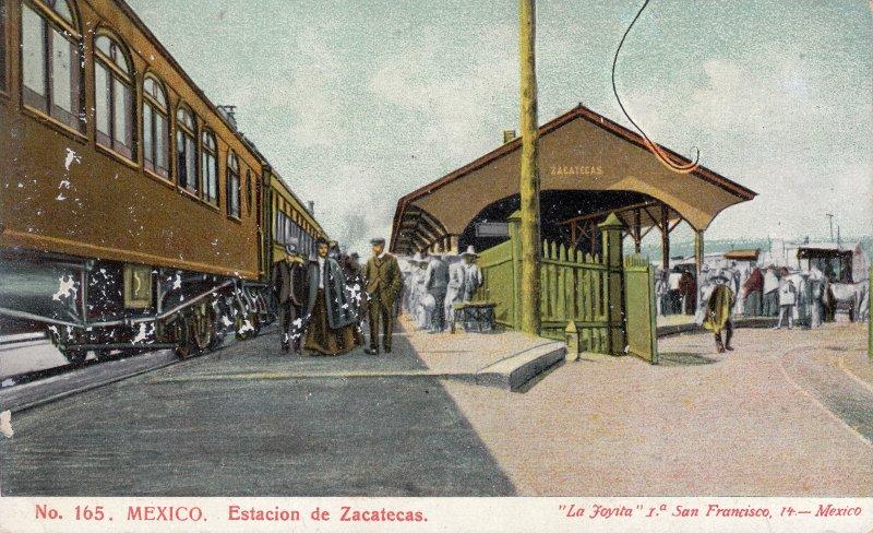 Estación del ferrocarril de Zacatecas