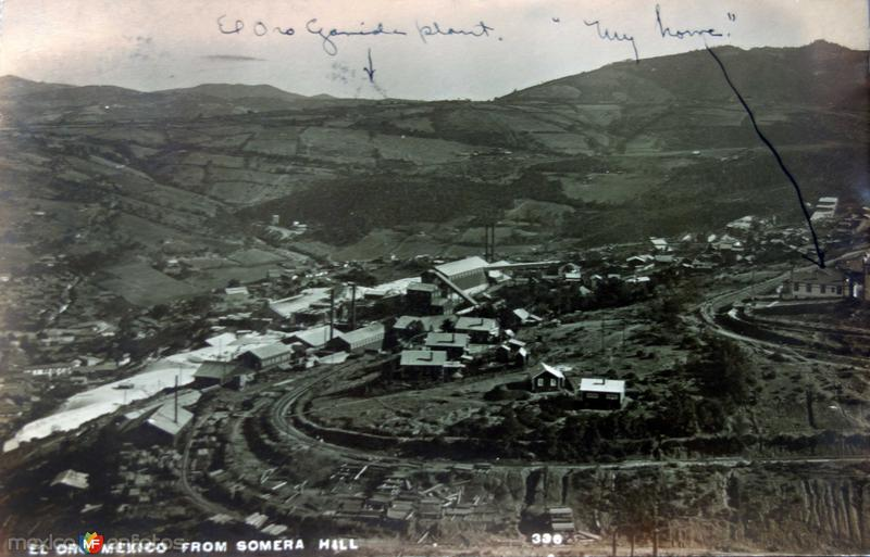 Panorama desde la montana Somera