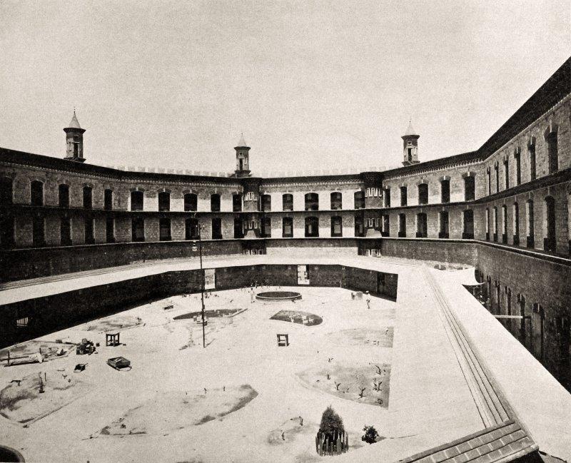 Un patio de la Penitenciaría