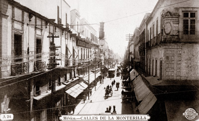 Calle de la Monterilla (hoy Calle 5 de Febrero)