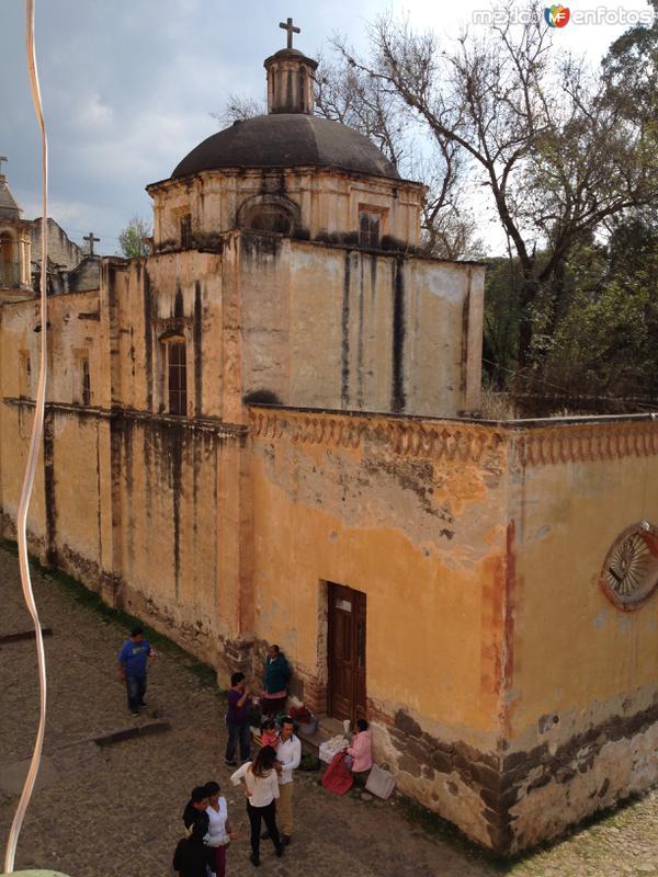 Ex-hacienda Molino de las Flores. Diciembre/2016