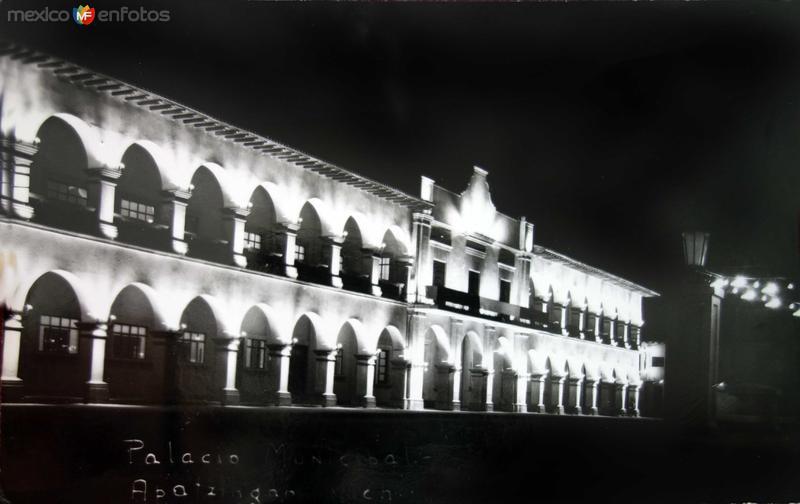 El Palacio Municipal.