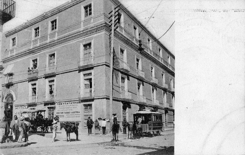 Hotel del Jardín (hoy Hotel Colonial)