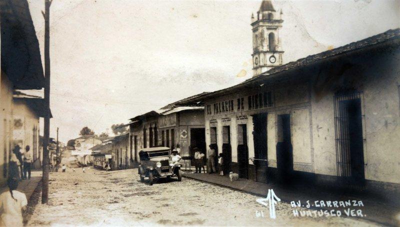 Avenida J. Carranza.