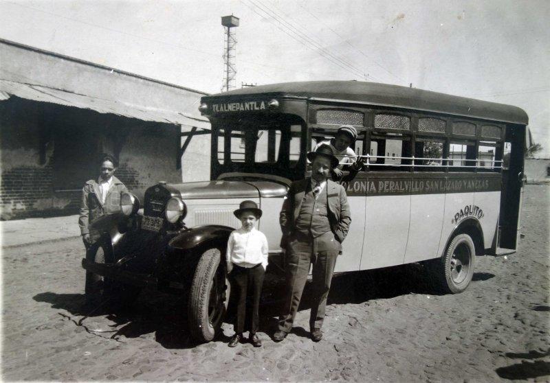 Autobus Urbano sirviendo la Ruta Colonia Peralvillo Tlalnepantla y Anexas