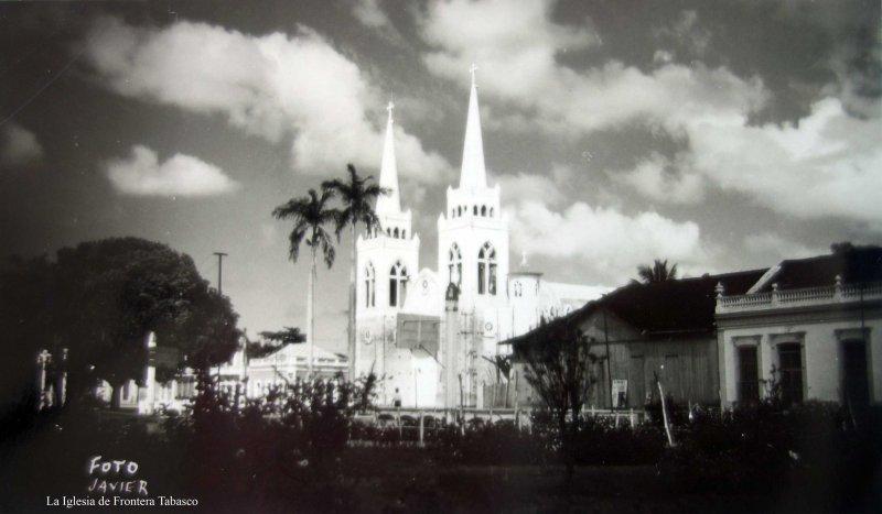 La Iglesia de Frontera Tabasco.