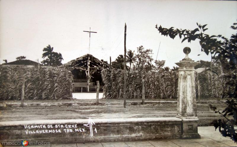 La Ermita de SantaCruz.