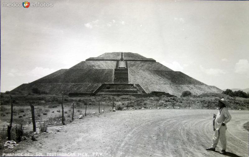 La Piramide de el sol.