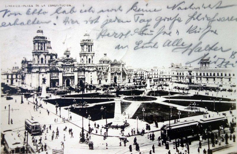 Plaza de La constitucion ( Fechada el dia 2 de Dic.de 1922 )