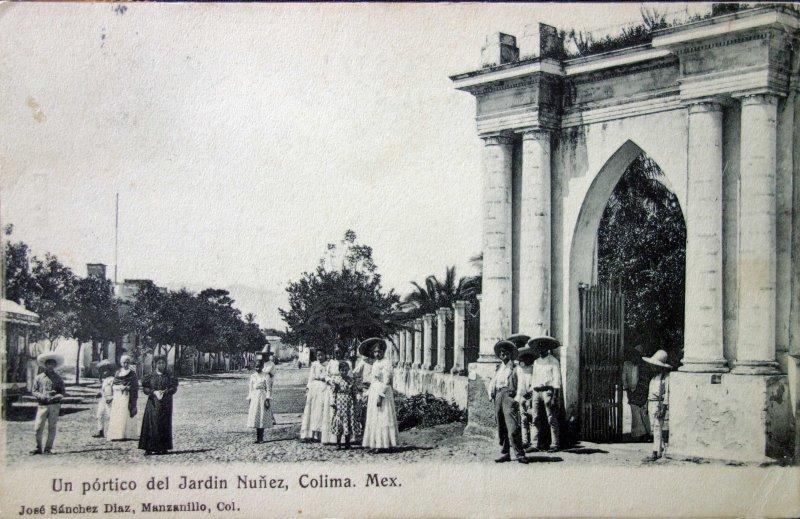 Un portico de el Jardin Nunez