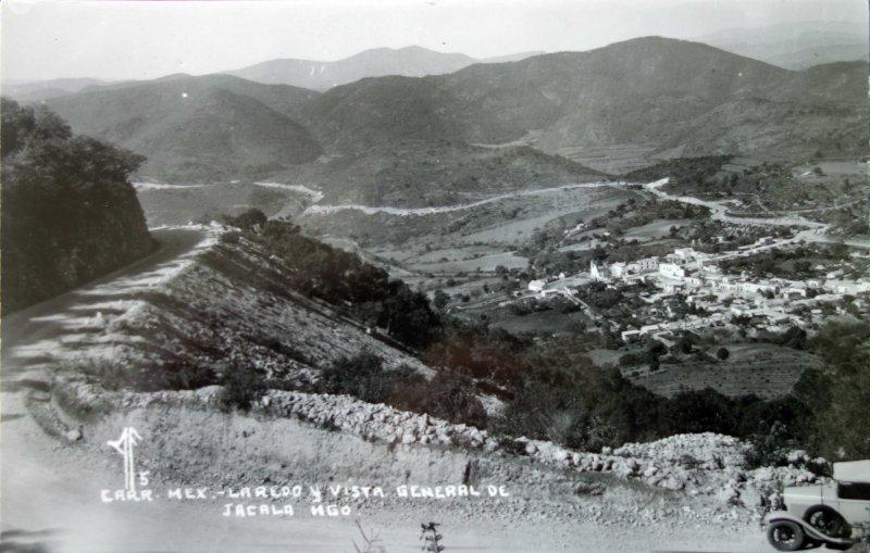 Carretera Mexico - Laredo vista general.