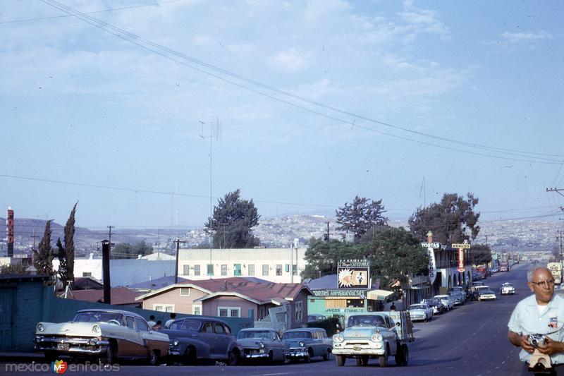Calle en Tijuana (1963)