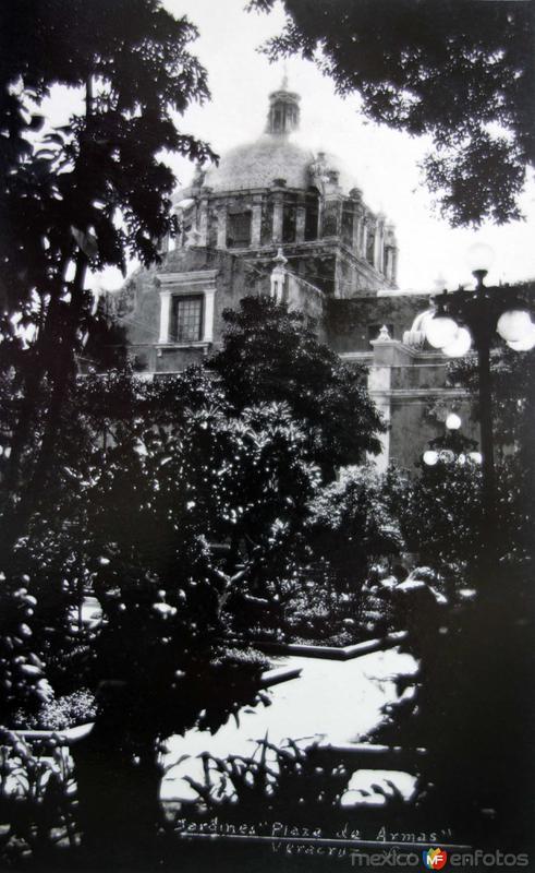 Jardines de la Plaza de Armas.