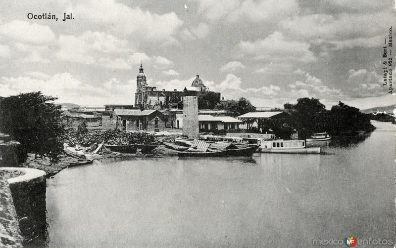 Embarcadero en Ocotlán