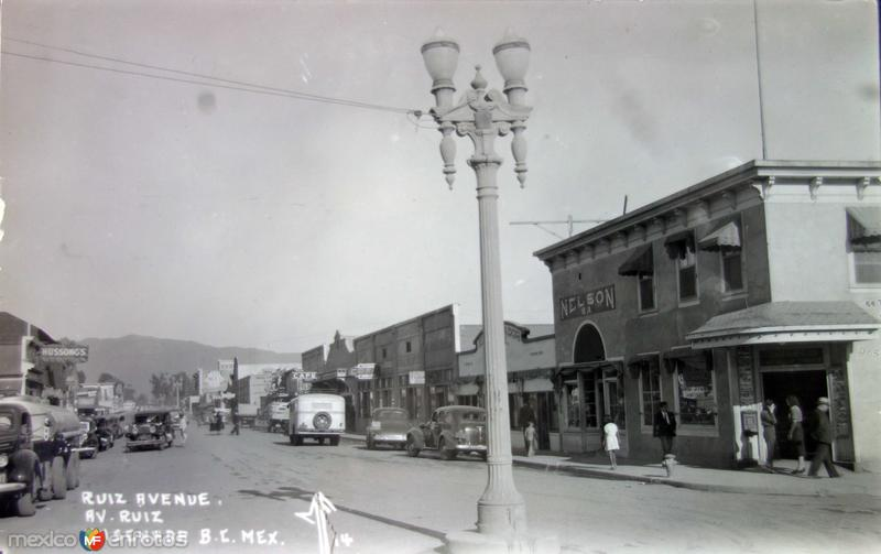 Avenida Ruiz.