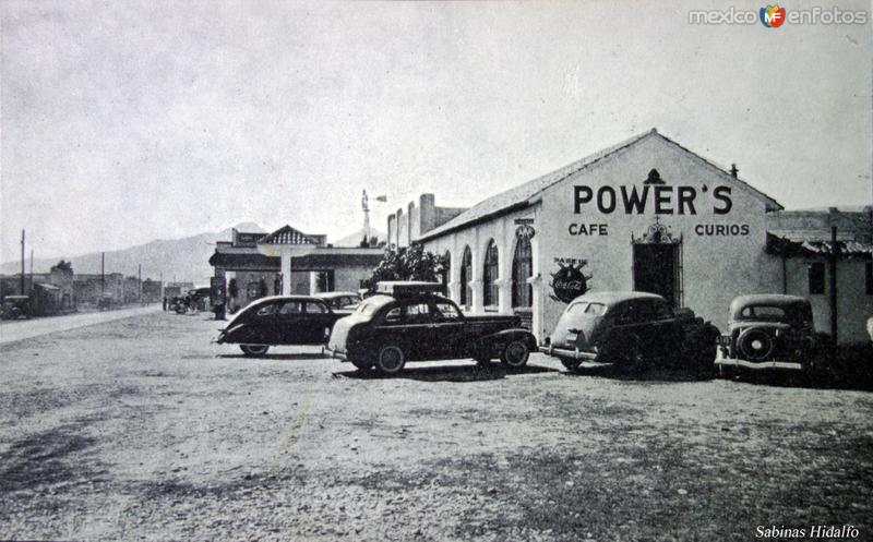 Cafe Powers Sabinas Hidalgo.