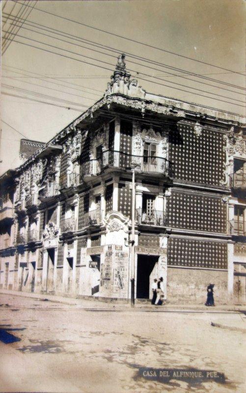 Casa del Alfenique.