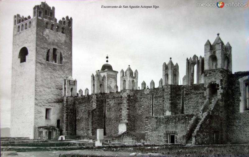 Exconvento de San Agustin Actopan Hgo.